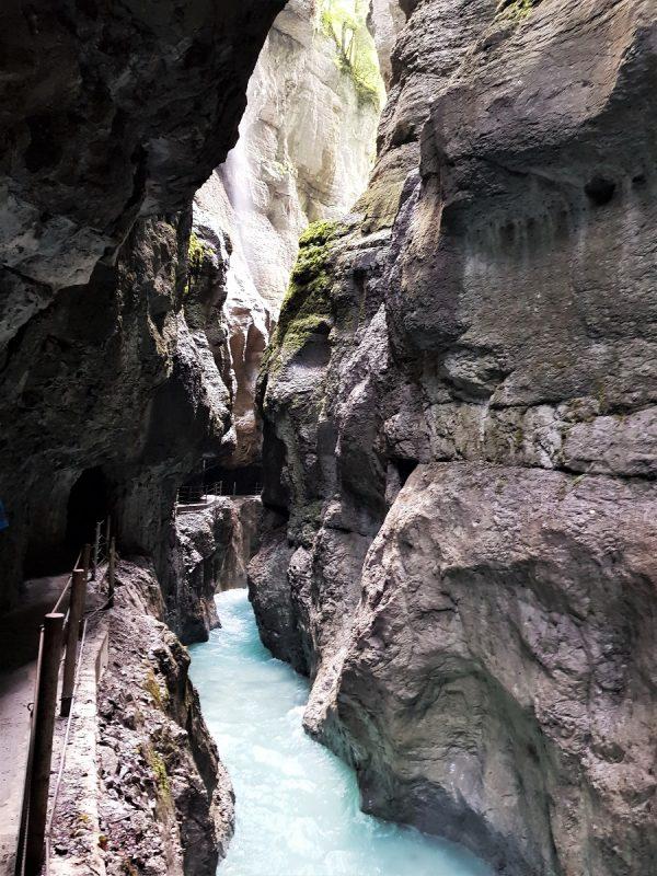 Die Partnachklamm in Garmisch-Partenkirchen