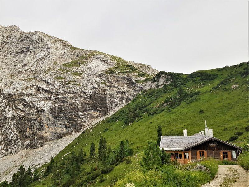 Das Schachenhaus in der Nähe von Garmisch-Partenkirchen