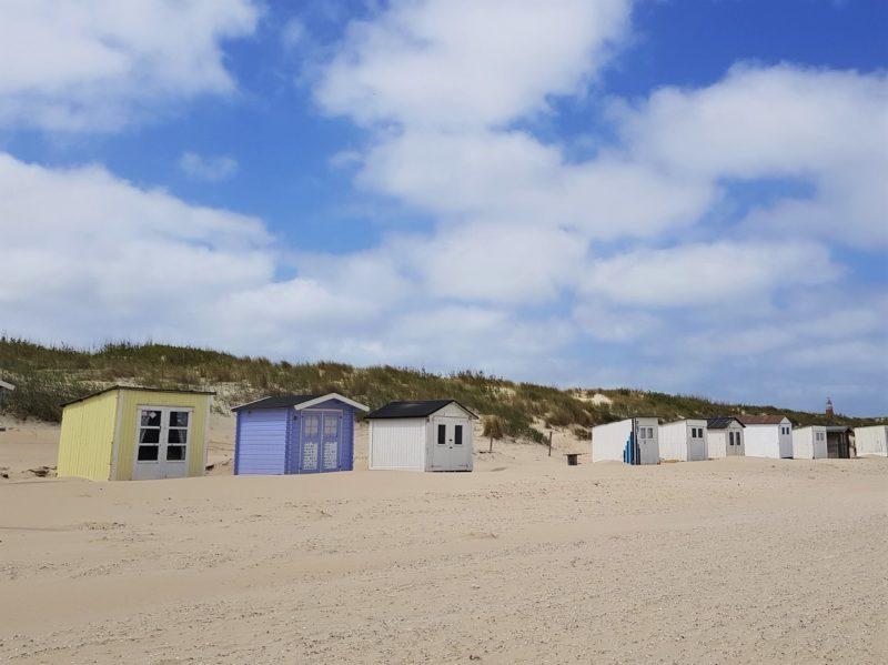 Strandhäuser auf Texel