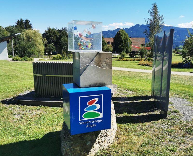 Duftstele Oy-Mittelberg an der Wandertrilogie im Allgäu