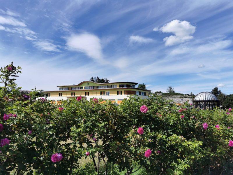 Primavera Duftgarten im Rahmen der Wandertrilogie im Allgäu