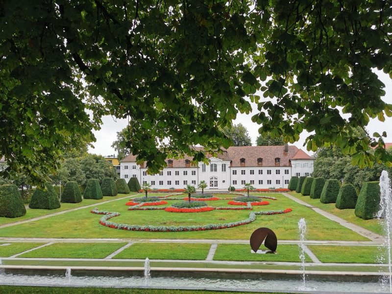 Schlossgarten in Kempten
