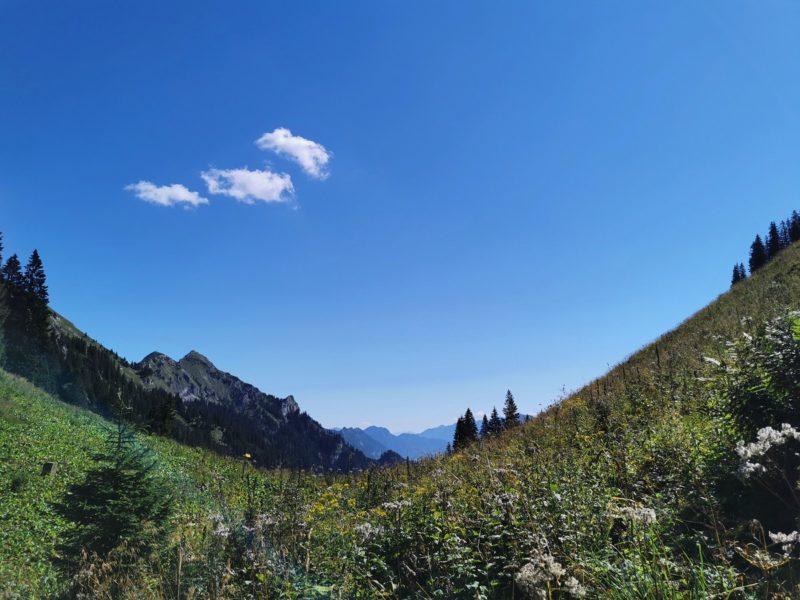 Wanderung Kesselrunde an der Kenzenhütte im Rahmen der Wandertrilogie Allgäu