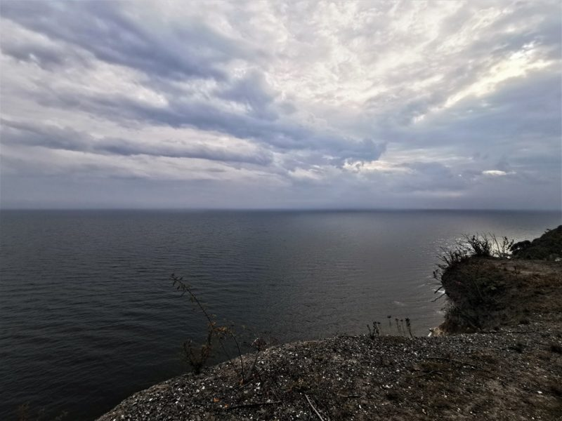 Aussicht am Nationalpark Jasmund auf die Ostsee in Mecklenburg-Vorpommern