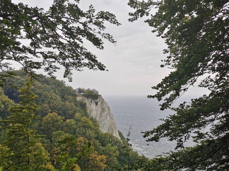 Aussicht im Nationalpark Jasmund auf den Königsstuhl in Mecklenburg-Vorpommern