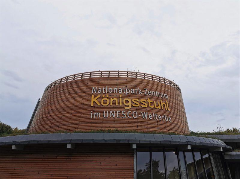 Das Nationalparkzentrum Königsstuhl in Mecklenburg-Vorpommern