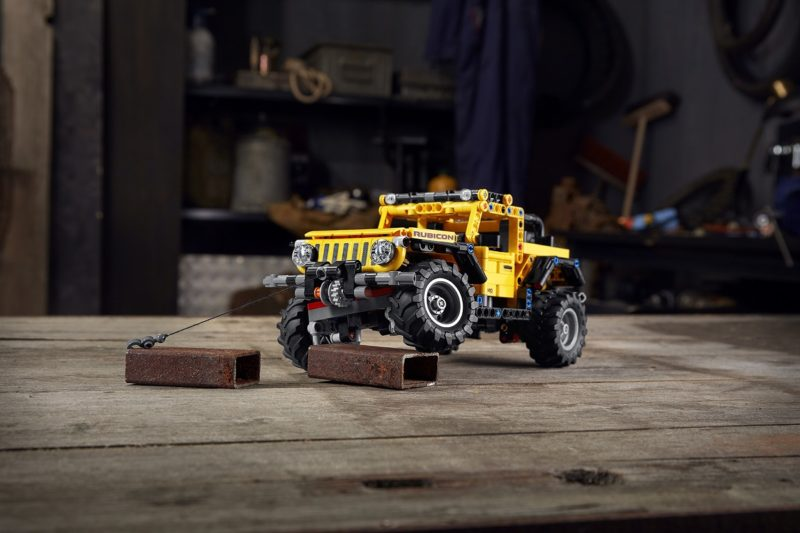 The Jeep® brand and the LEGO Group reveal the Jeep Wrangler Rubi