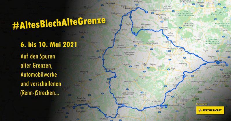 AltesBlechAlteGrenze - Route