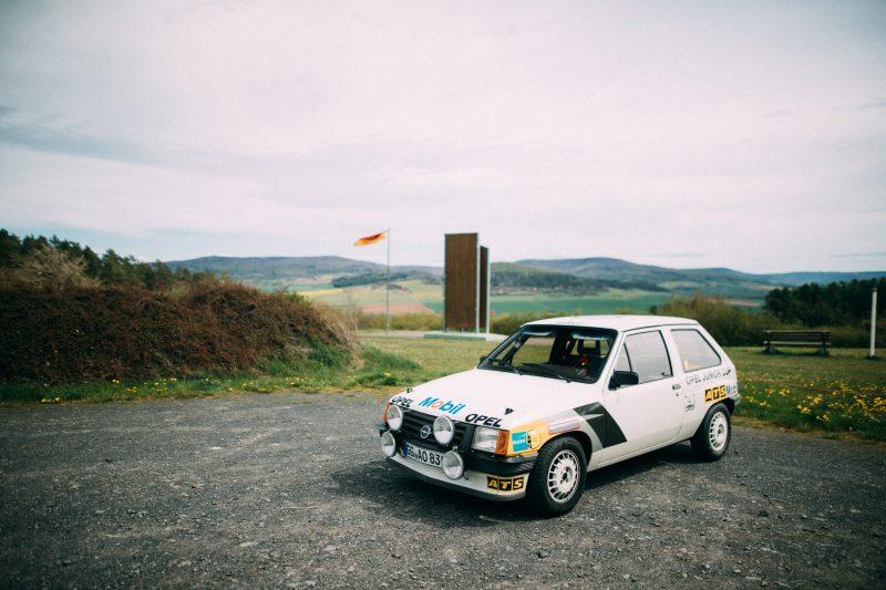 Der Opel Corsa A Cup an der innerdeutschen Grenze- AltesBlechAlteGrenze