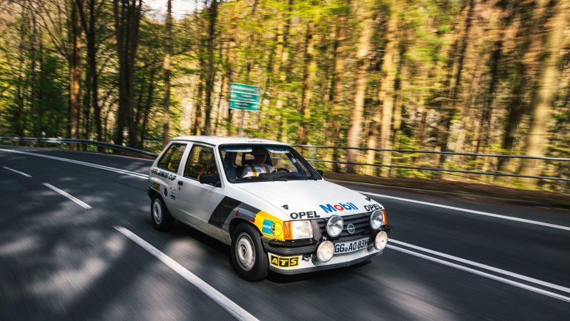 Der Opel Corsa A Cup on Tour - AltesBlechAlteGrenze