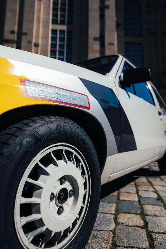Dunlop Street Response 2 auf dem Opel Corsa A Cup - AltesBlechAlteGrenze