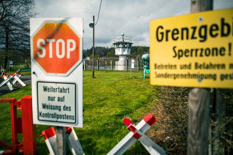 Grenze im Deutsch-Deutschen Museum Mödlareuth - #AltesBlechAlteGrenze