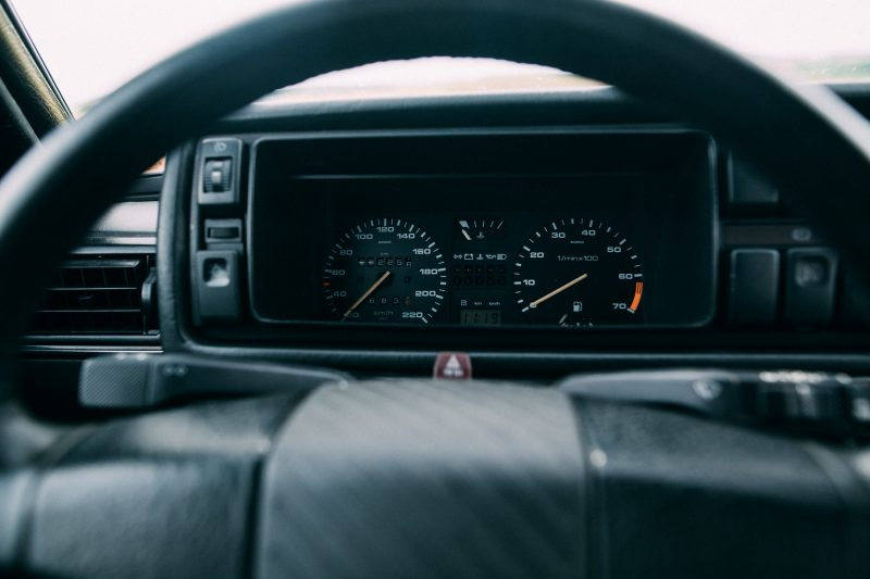 Innen im VW Golf II GTI - #AltesBlechAlteGrenze