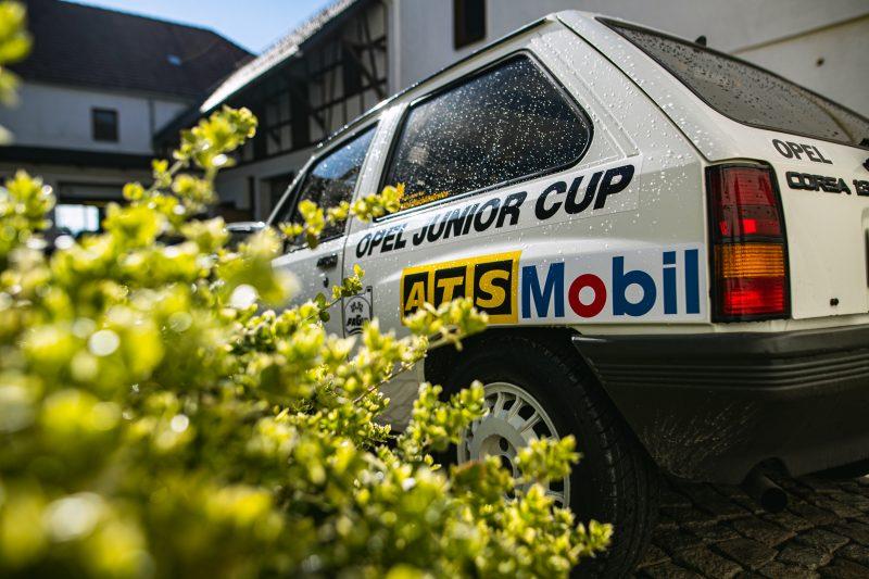 Seite vom Opel Corsa A Cup - AltesBlechAlteGrenze