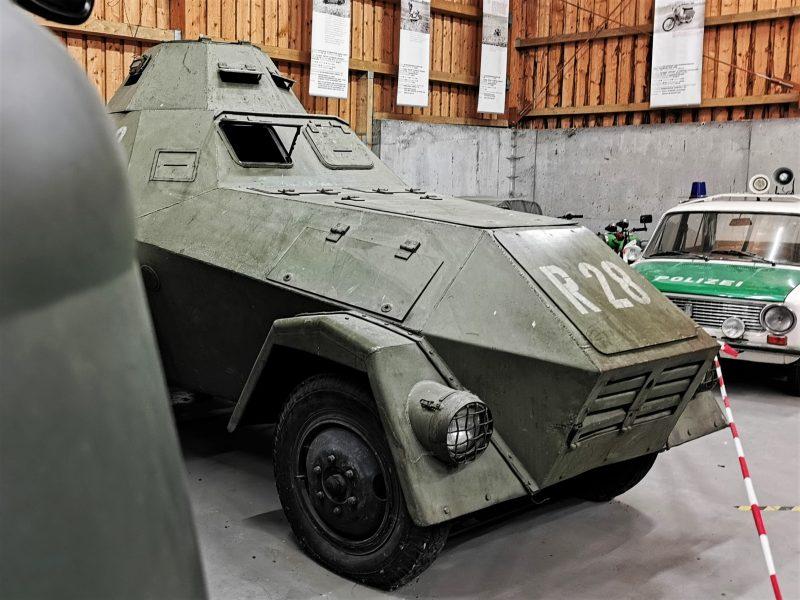 T28 im Deutsch-Deutschen Museum Mödlareuth - #AltesBlechAlteGrenze