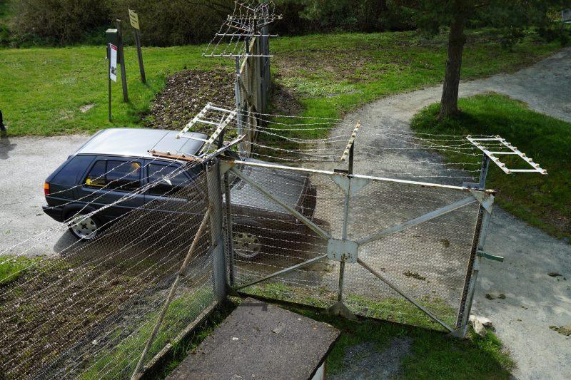 Zaun im Deutsch-Deutschen Museum Mödlareuth - #AltesBlechAlteGrenze