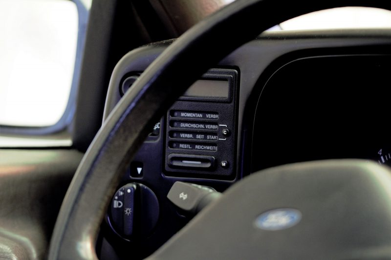 Boardcomputer im Ford Scorpio MK1 - #AltesBlechAlteGrenze