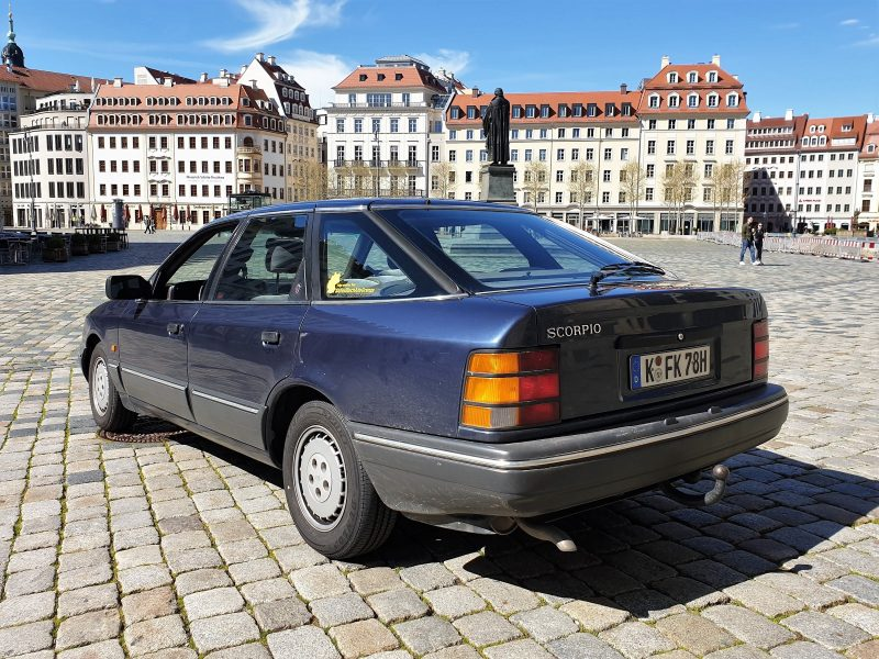 Der Ford Scorpio MK1 Heck - #AltesBlechAlteGrenze
