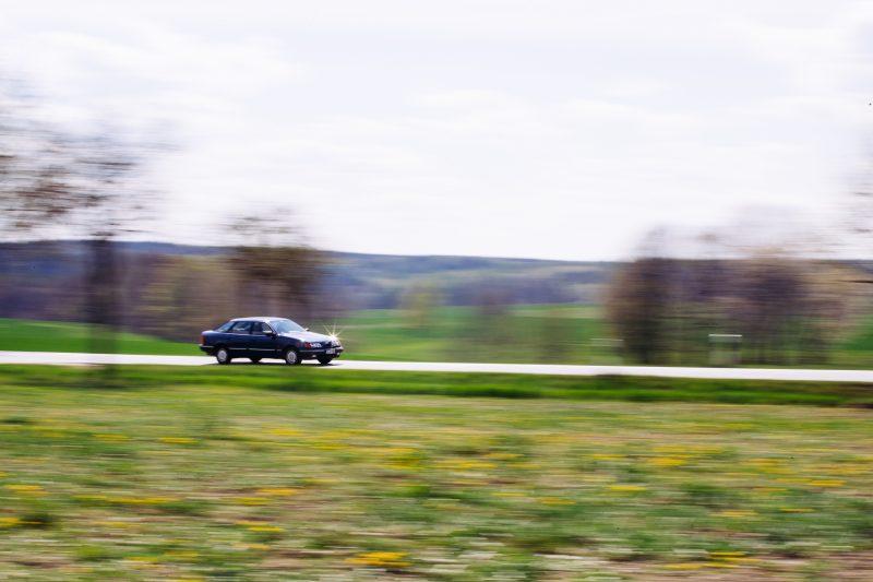 Der Ford Scorpio MK1 in Fahrt - #AltesBlechAlteGrenze