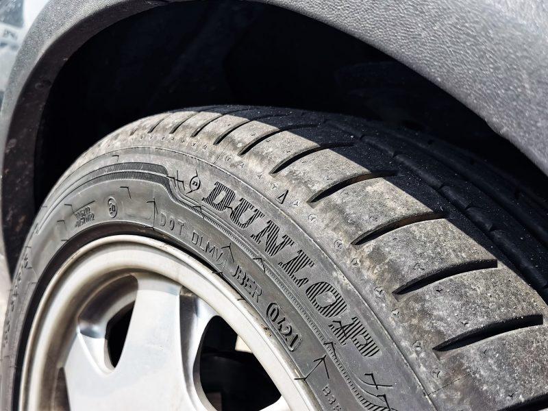Dunlop Sport Classic Reifen auf dem Scorpio MK1 - #AltesBlechAlteGrenze