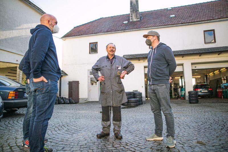 Gespräch mit Hartmut Glück in Tanna - #AltesBlechAlteGrenze
