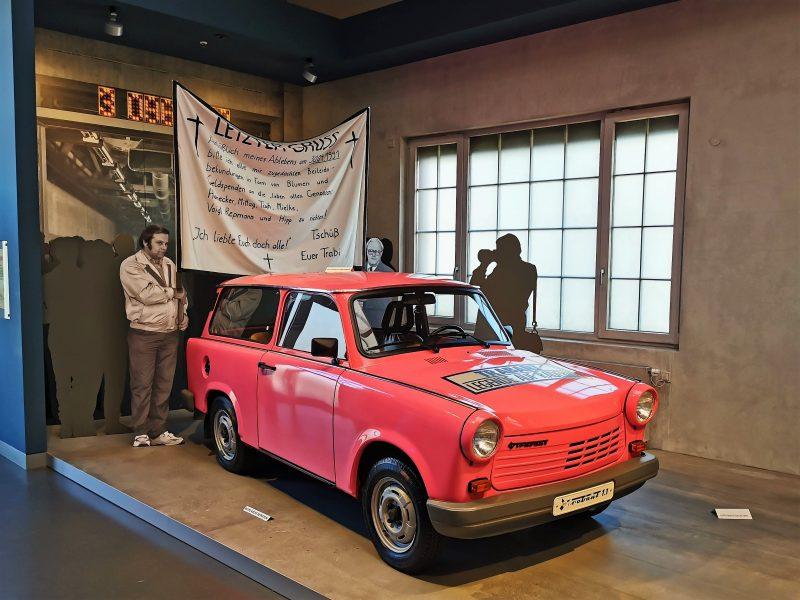 Letzter Trabant - Im August Horch Museum in Zwickau - #AltesBlechAlteGrenze