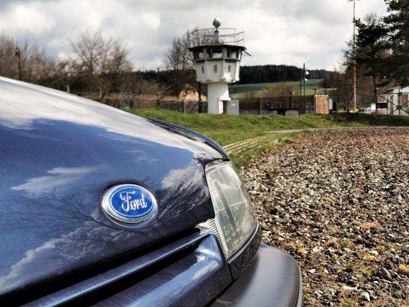 Logo vom Ford Scorpio MK1 - #AltesBlechAlteGrenze