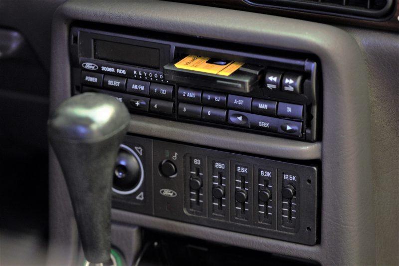 Radio im Ford Scorpio MK1 - #AltesBlechAlteGrenze
