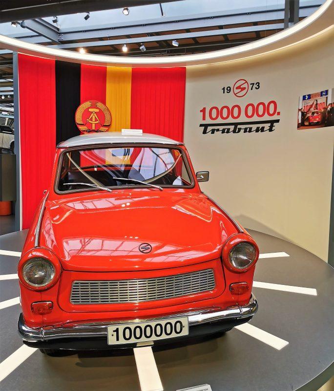 Trabant im August Horch Museum in Zwickau - #AltesBlechAlteGrenze
