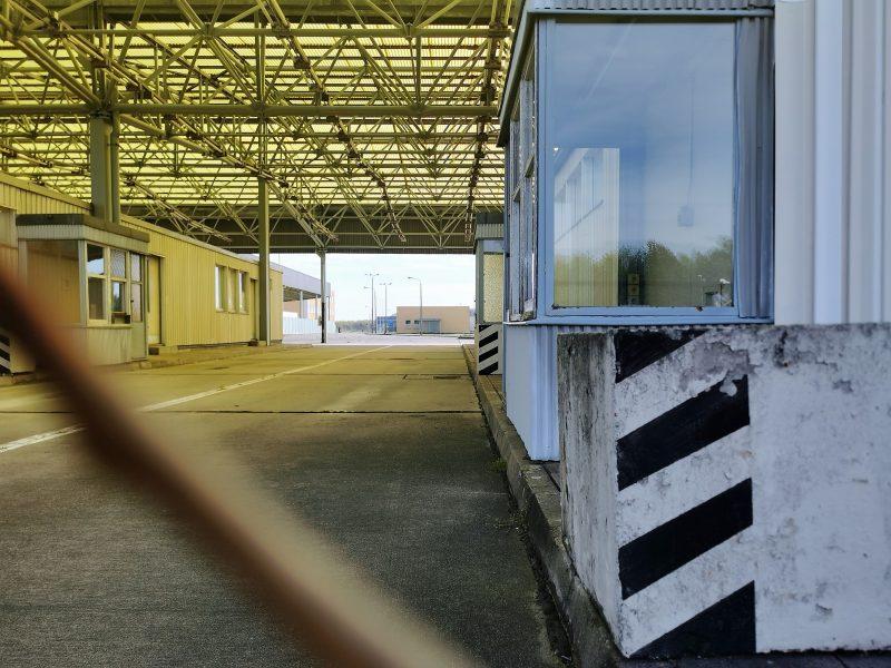 Grenzanlage am Grenzübergang Marienborn - #AltesBlechAlteGrenze