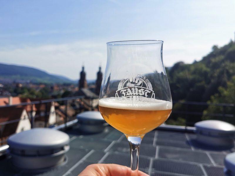 Auf der Brauerei Faust in Miltenberg - Churfranken