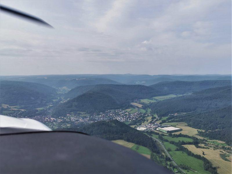 Churfranken von oben – mit Peter Duffeck (Pilot und Fluglehrer)