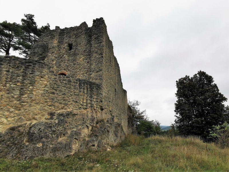 Die Burgruine Lichtenegg im Nürnberger Land