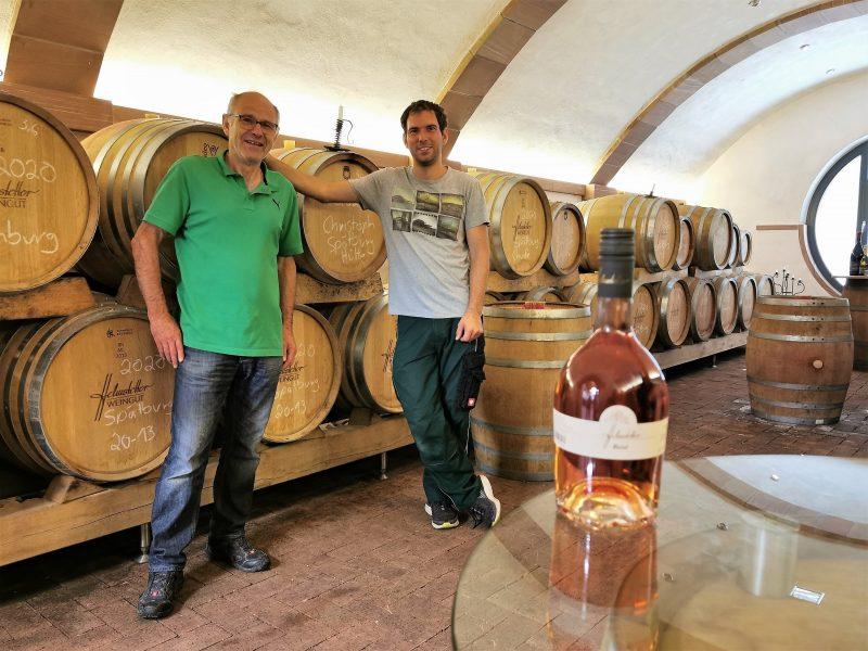 Die Chefs vom Main Vinotel in Churfranken